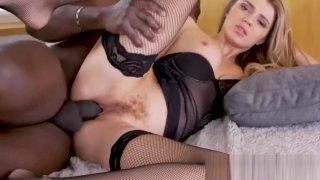 PrivateBlack - Bushy Mary Kalisy Wrecked By Big Black Cock! Preview Image