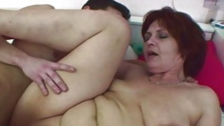 Stepson Caught Jerking By Her Stepmom In Panties Preview Image