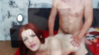 Doggy Style Fucking Redhead In Stocking Preview Image