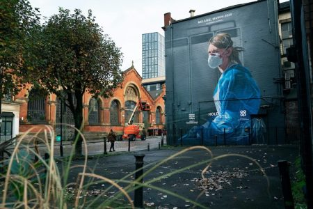 Photographer Behind Manchester Nurse Mural Image Hopes To Offer  'solidarity' | Nursing Times