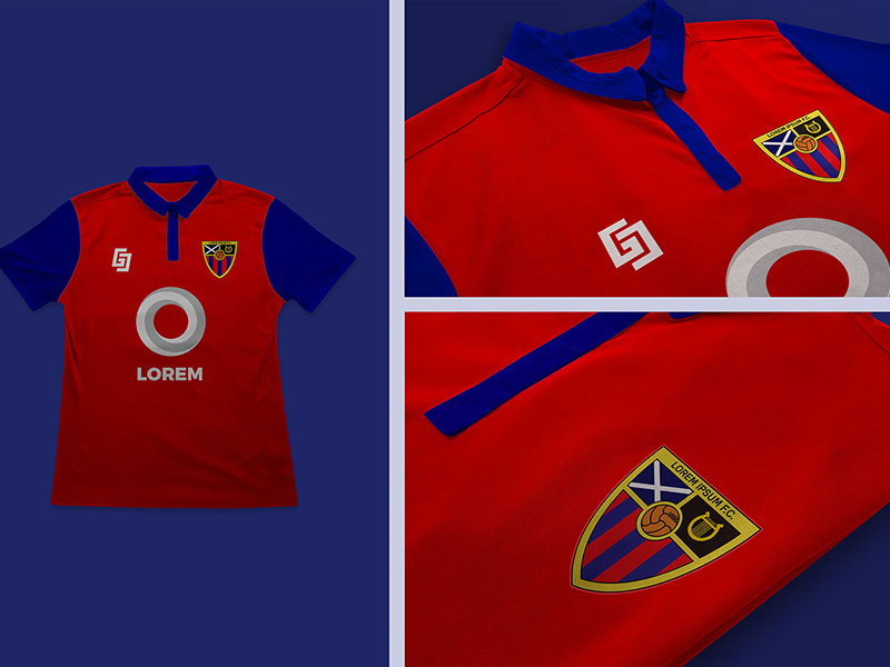 Download Football Soccer Jersey Logo Mockup | Free PSD Template ...