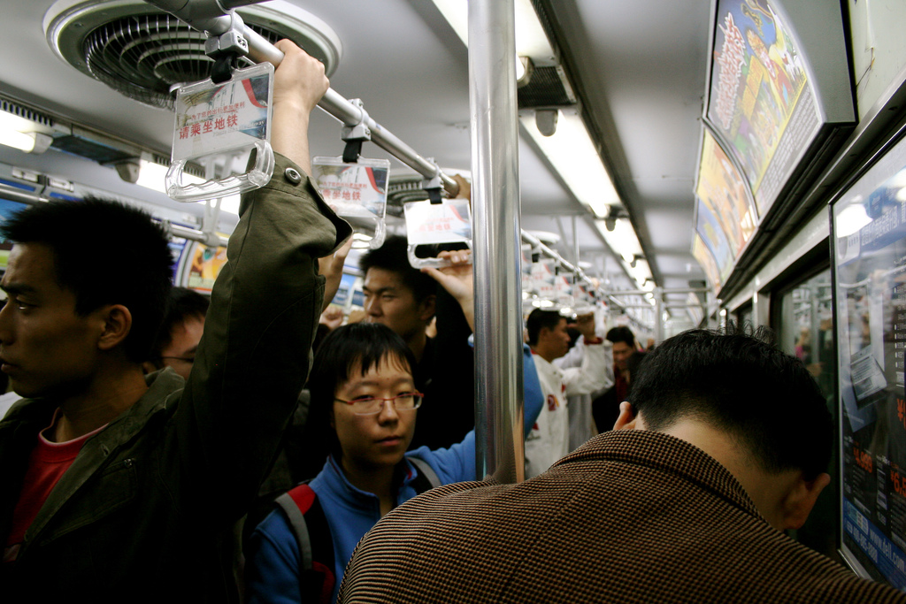 QR-Access Transforms Commuter Line into a Library