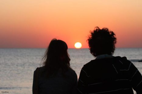 Image result for couple watching sunset gif