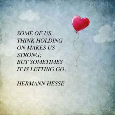 How Can Letting Go Make Us Stronger? | Psychology Today