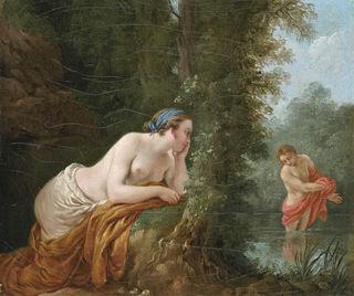 Lagrenee/wikimedia Echo and Narcissus