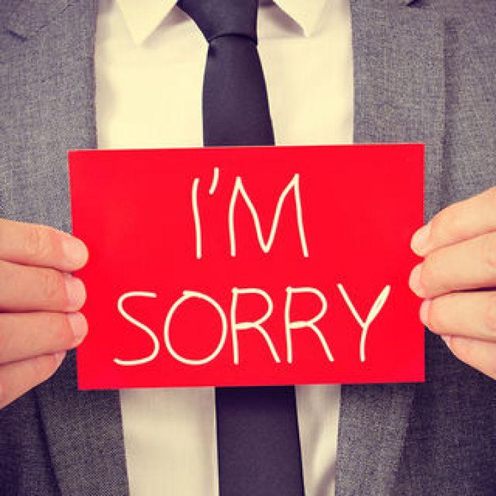 "Saying ""I'm Sorry"" | Psychology Today"