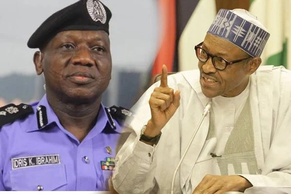 Image result for Buhari gives IG of Police permission to arrest Saraki