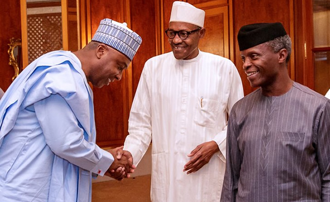 Image result for Buhari not the one in charge in Aso Rock – Saraki
