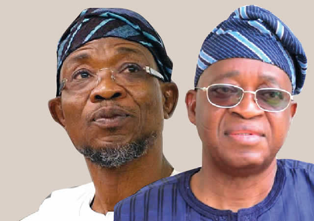 Image result for Goodbye Aregbesola, welcome Oyetola