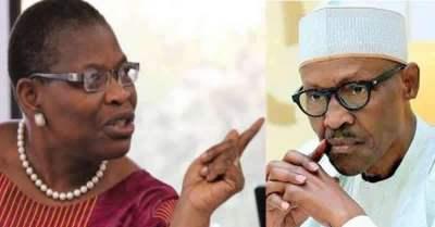 Image result for Oby Ezekwesili tells Buhari