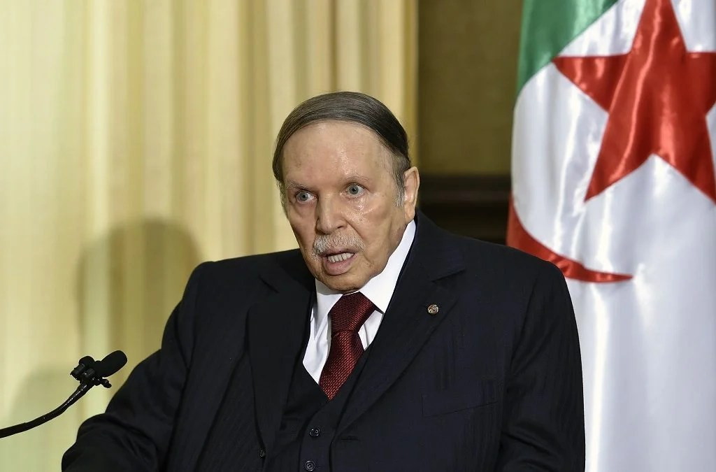 Algerian president Abdelaziz Bouteflika 1024x675 - Algerians embark on protest, demand ouster of officials from ex-president Bouteflika's era