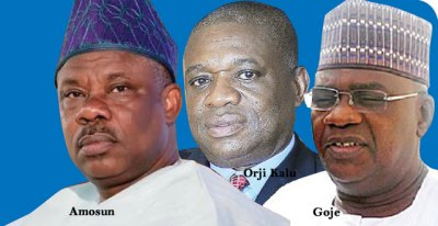 Image result for 9th Assembly: Orji Kalu, Goje, Amosun, others to pocket N273.64bn in four years