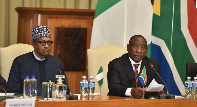 Image result for Nigeria, South Africa sign 10-year visa agreement to businessmen, academics