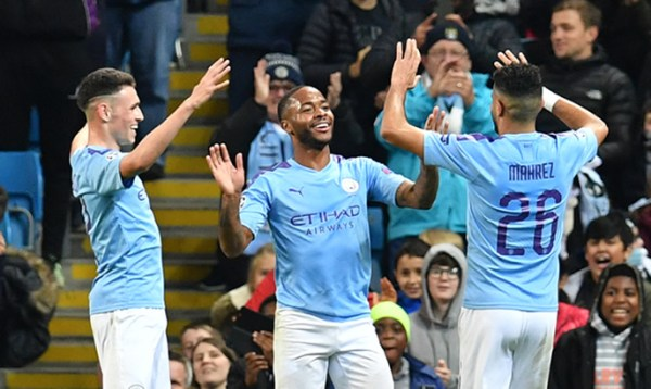 Man City vs Atalanta: Sterling blasts 11-minute treble as City run riot