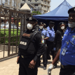 Police dissolved #EndSARS protesters in Lagos