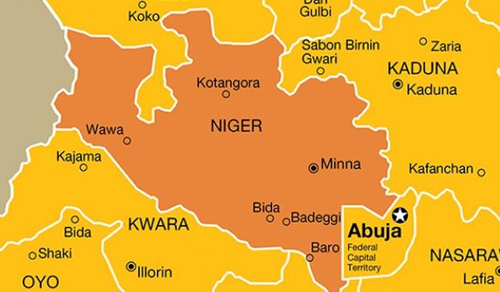 Niger map