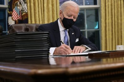 United States President, Joe Biden reverses Trump's immigrant visa ban on Nigerians