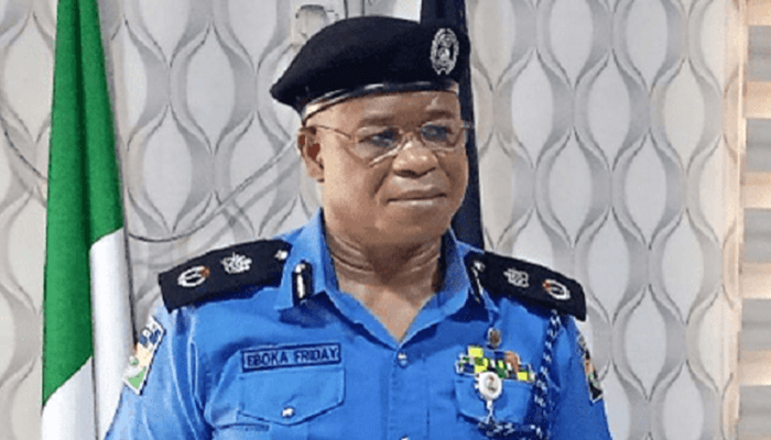 Rivers State Commissioner of Police, Eboka Friday