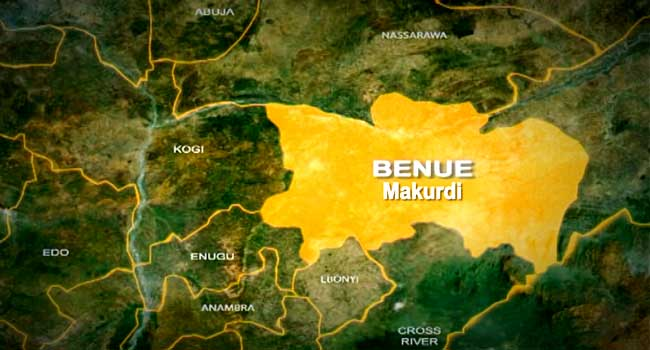 Benue State map