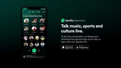 Spotify-Greenroom