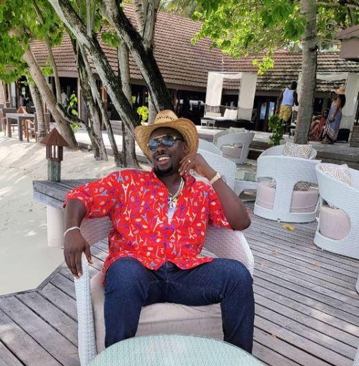 Obi Cubana at Maldives