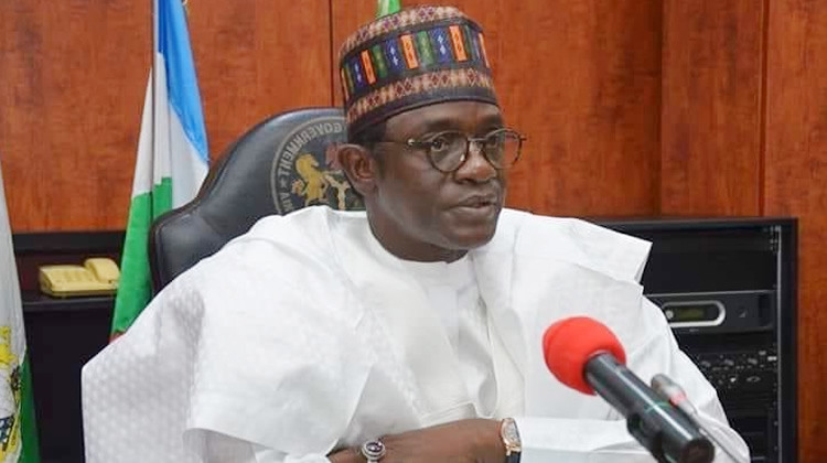 Yobe State Governor and Chairman Caretaker/Extra-Ordinary Ordinary National Convention Planning Committee of the APC, Mai Mala Buni