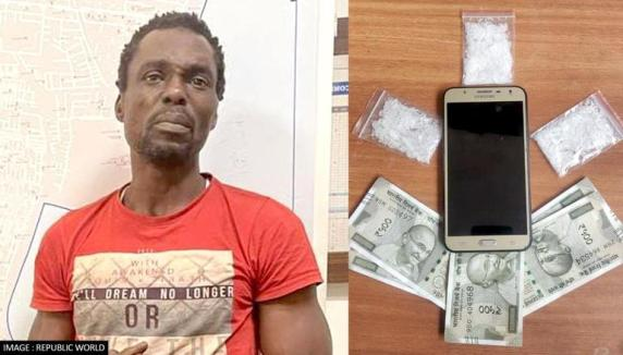 Nigerian actor arrested for selling drugs in India
