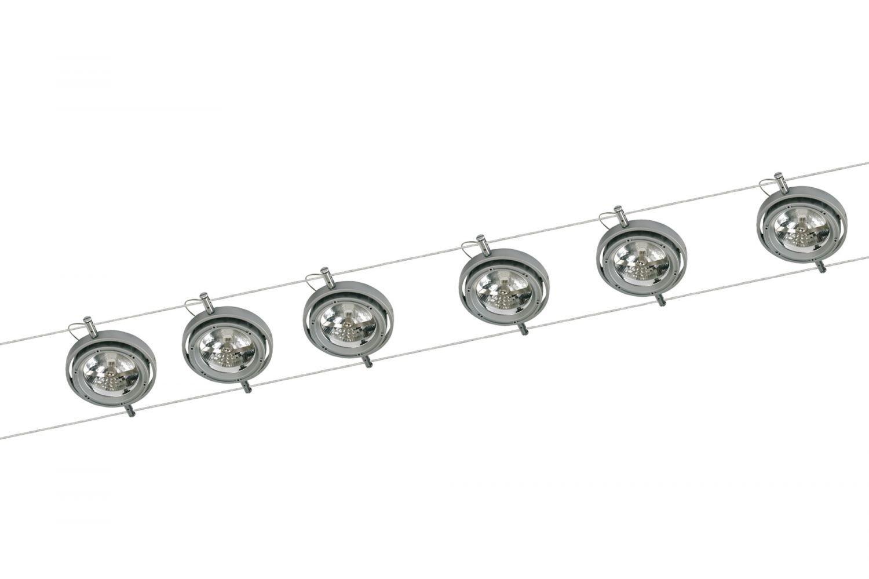 Paulmann Juego De Cables 6x50w Incluidas Powerline