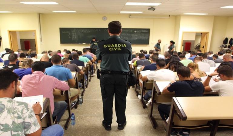 La Guardia Civil nos lleva a examen