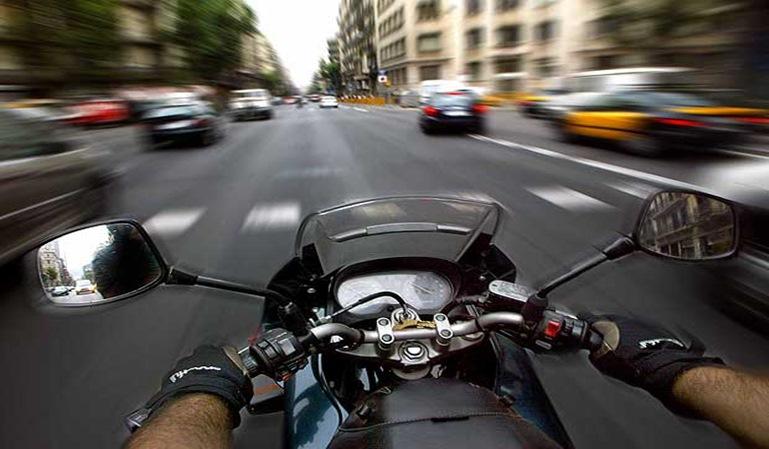 Las multas en moto más comunes