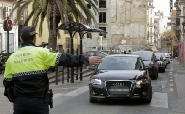 Reducción de la velocidad en carreteras de un sentido