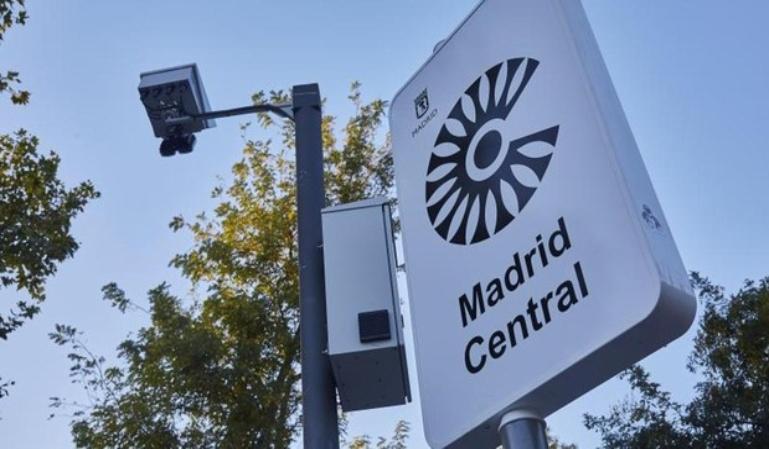 Madrid Central: Multas desde el 15 de marzo