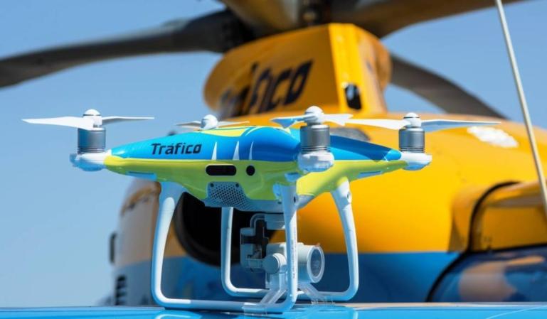 Los nuevos drones de la DGT. Futuros dispositivos sancionadores