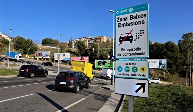 Zona de Bajas Emisiones de Barcelona: sanciones