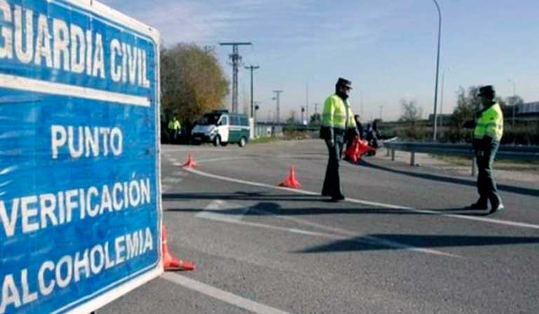 DGT avisa de controles masivos de alcohol y drogas