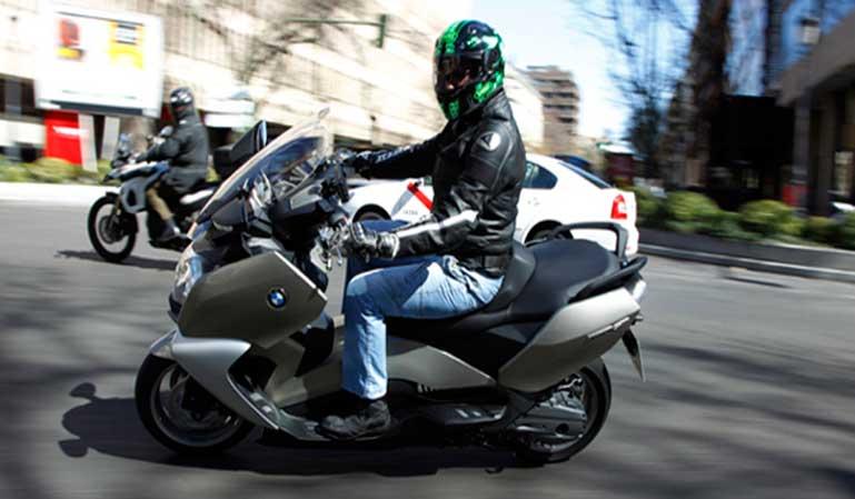 Las motos no incluidas en las limitaciones de tráfico