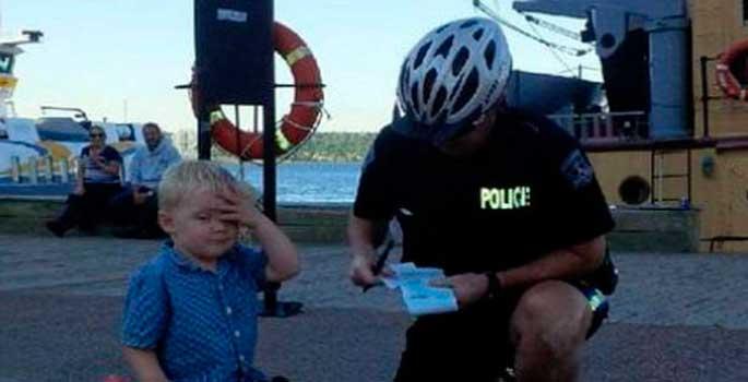 La multa de aparcamiento a un niño de 3 años