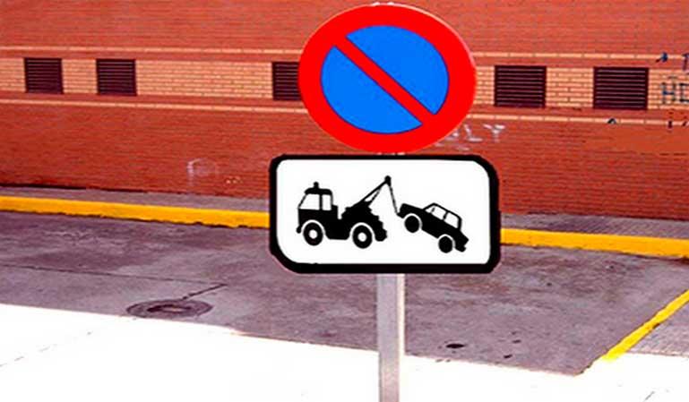 Multa por mal aparcamiento
