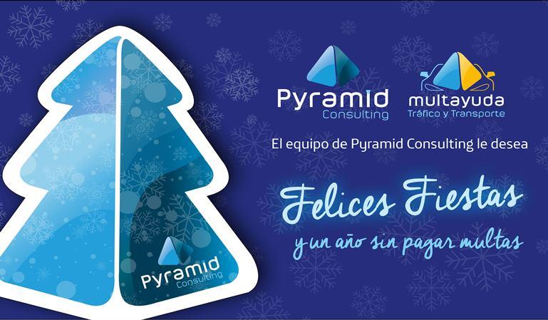 Pyramid Consulting desea Felices Fiestas