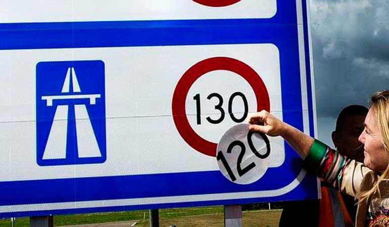 La renuncia del límite 130 en las autopistas