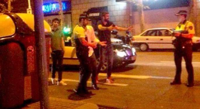 Gerard Piqué la lía con los agentes por una multa de tráfico