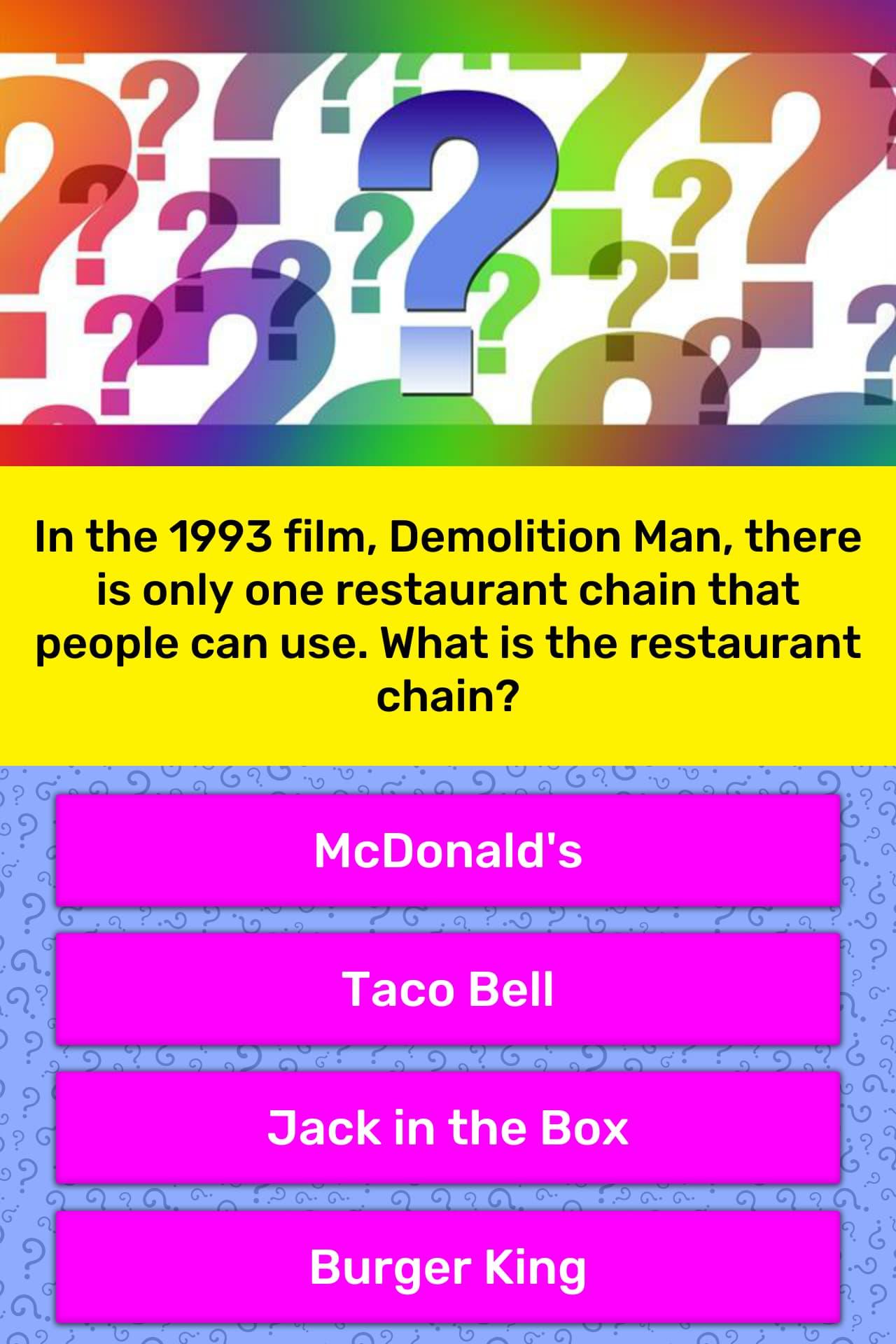 In The Film Demolition Man