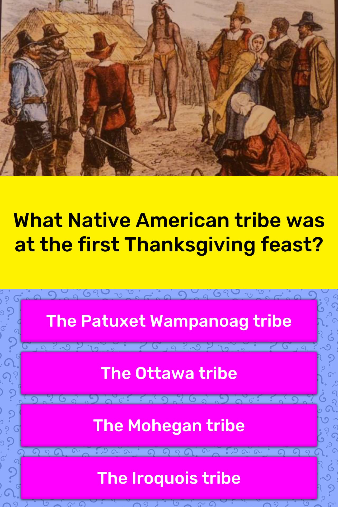 What Native American Tribe Was At