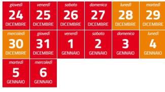 Zona rossa o arancione: il calendario