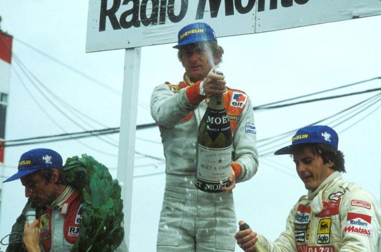 Duel mémorable au Grand Prix de France de Formule 1 entre René Arnoux et  Gilles Villeneuve