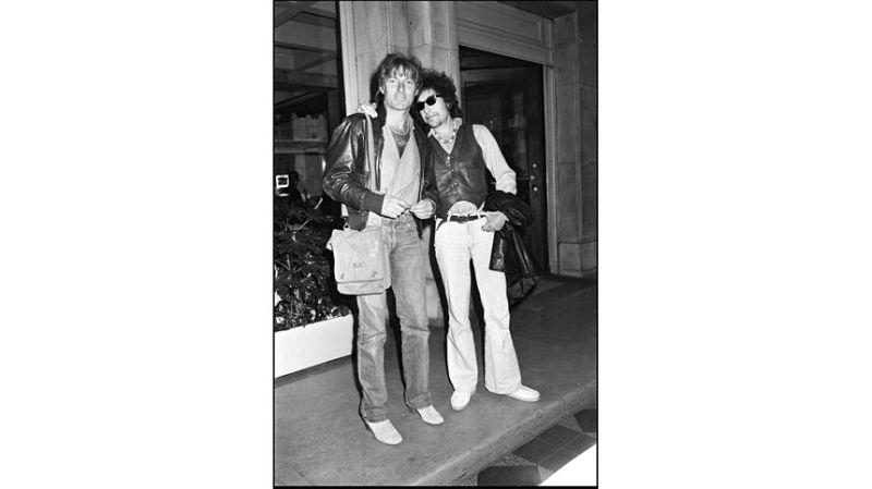 Durant son séjour à New York, Hugues Aufray fait la rencontre d'un jeune chanteur encore inconnu : Bob Dylan. Ils resteront toujours en contact. - Getty