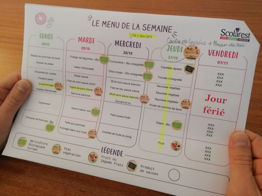 les cantines scolaires