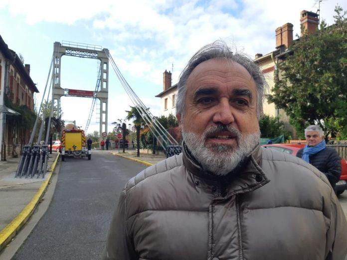 Eric Oget, le maire de Mirepoix-sur-Tarn - Radio France