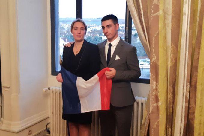 Le bourguignon Valentin Mérot qui officie au Relais Bernard Loiseau à Saulieu (côte d'or) et Elsa Jeanvoine qui évolue à l'Auberge De La Poutre à Bonlieu (Jura), terminent à la deuxième place ex æquo. - Radio France
