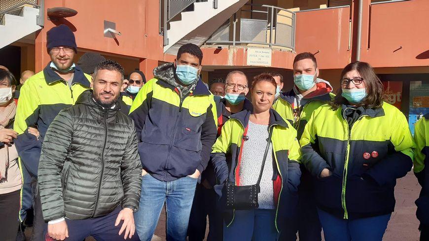 La salariés de la Stef, plateforme logisitique d'Intermarché, sont en grève depuis plus d'un mois à Montauban